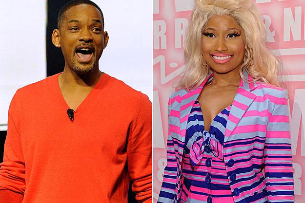 Will Smith Nicki Minaj
