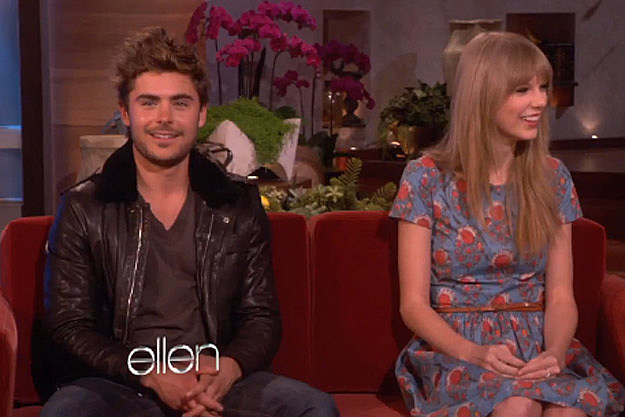 taylor swift and zac efron address dating rumors