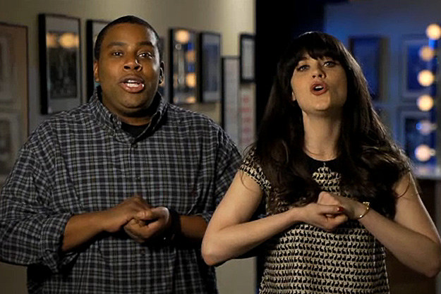 Keenan Thompson, Zooey Deschanel