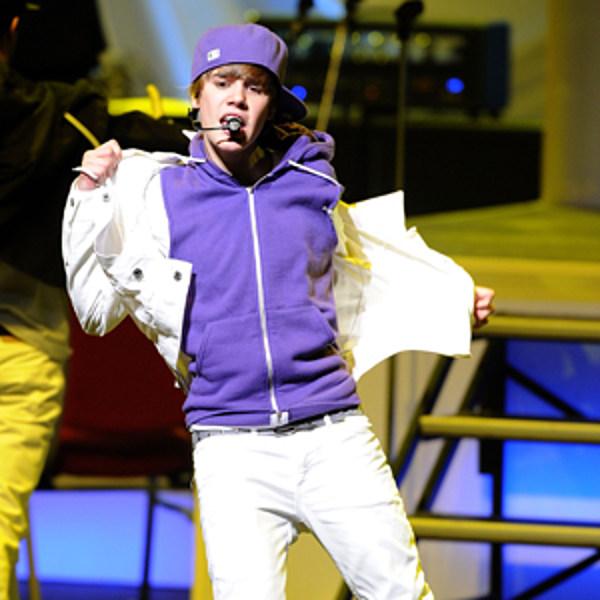 Justin Bieber Sports Purple Athletic Combo - photo #32