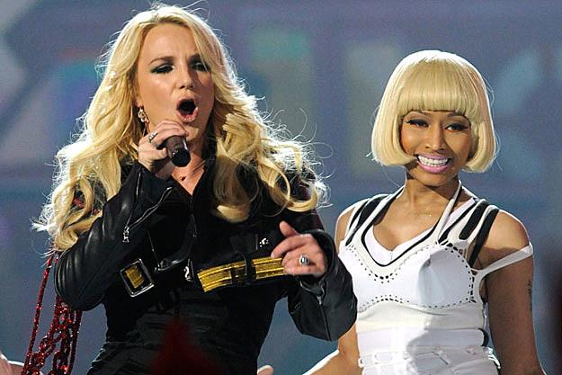 Britney Spears Nicki Minaj