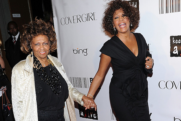 Cissy and Whitney Houston