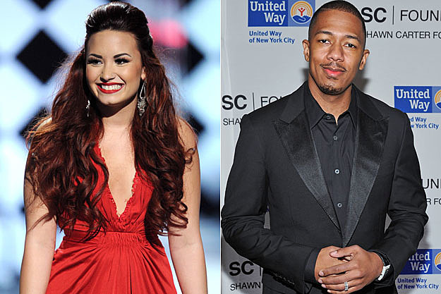Demi Lovato Nick Cannon