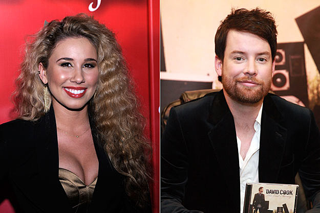 Haley Reinhart and David Cook