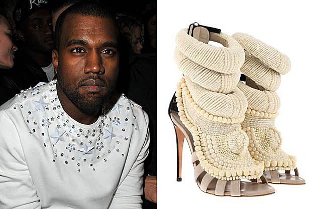 Kanye West Zanotti Stilettos