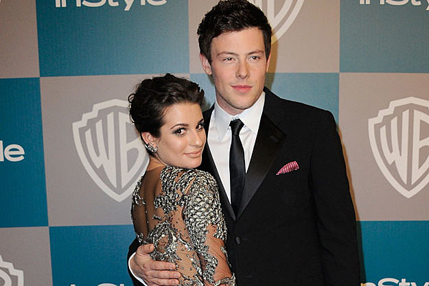Lea michele and cory monteith dating rumors