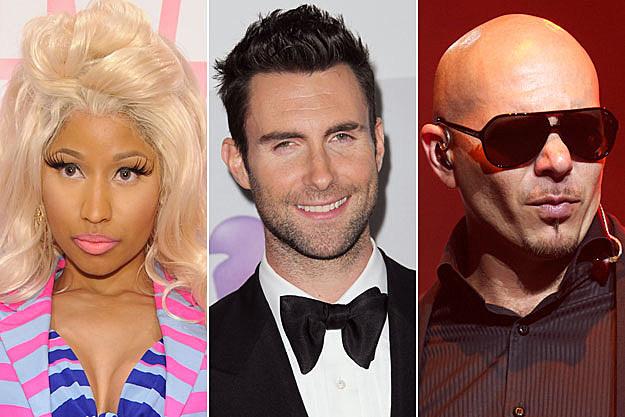 Nicki Minaj Maroon 5 Pitbull