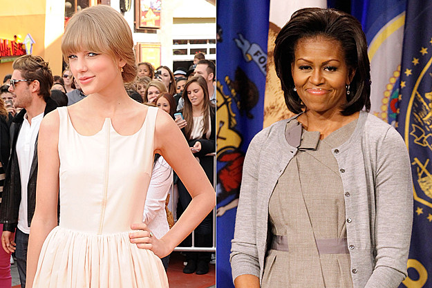 Taylor Swift, Michelle Obama
