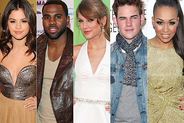 Selena Gomez Jason Derulo Taylor Swift James Durbin Rebecca Ferguson