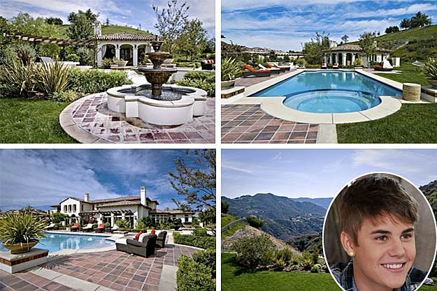 Justin bieber looking at 6 million mansion - La maison de selena gomez ...