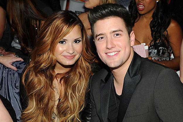 Demi Lovato + Logan Henderson