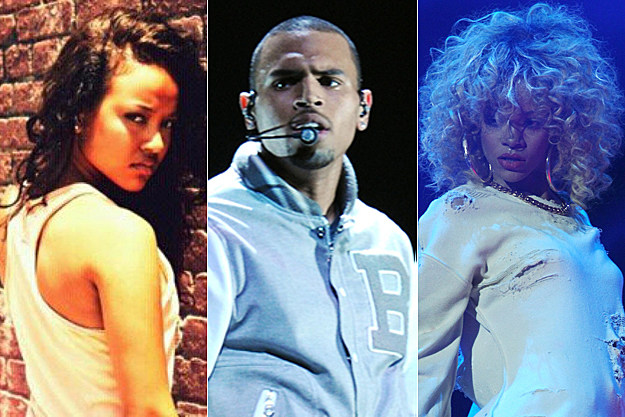 Karrueche Tran, Chris Brown, Rihanna