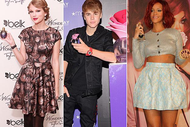 Taylor Swift Justin Bieber Rihanna