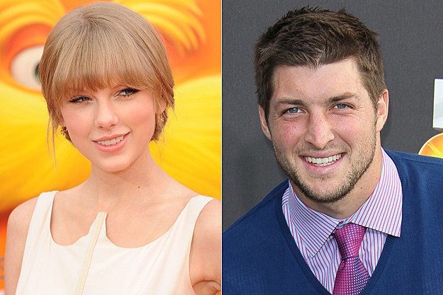 Taylor Swift, Tim Tebow