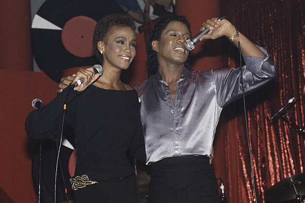 Whitney Houston, Jermaine Jackson
