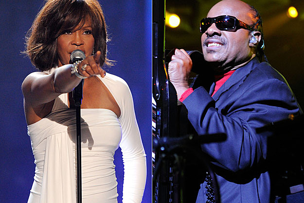 Whitney Houston Stevie Wonder