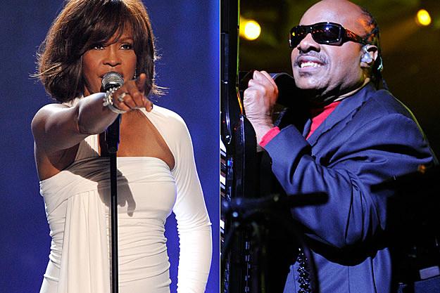 Whitney Houston Stevie Wonder