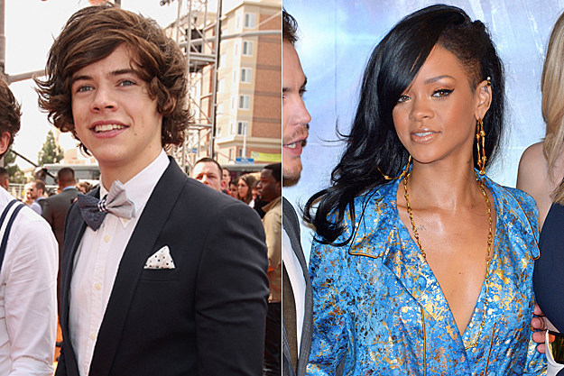 Harry Styles, Rihanna