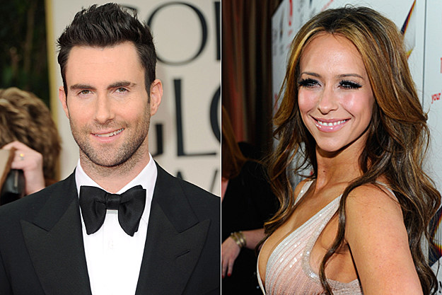 Adam Levine, Jennifer Love Hewitt
