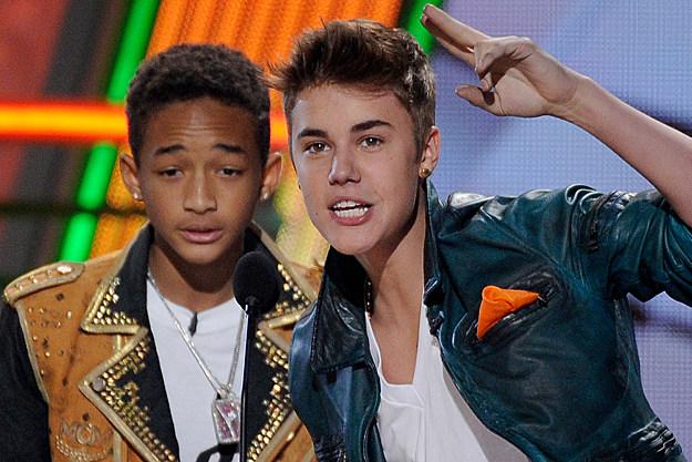 Jaden Smith, Justin Bieber