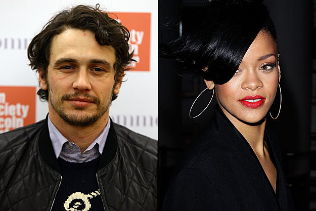 James Franco Rihanna