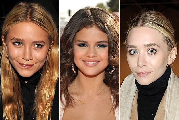 Mary-Kate Olsen, Selena Gomez, Ashley Olsen
