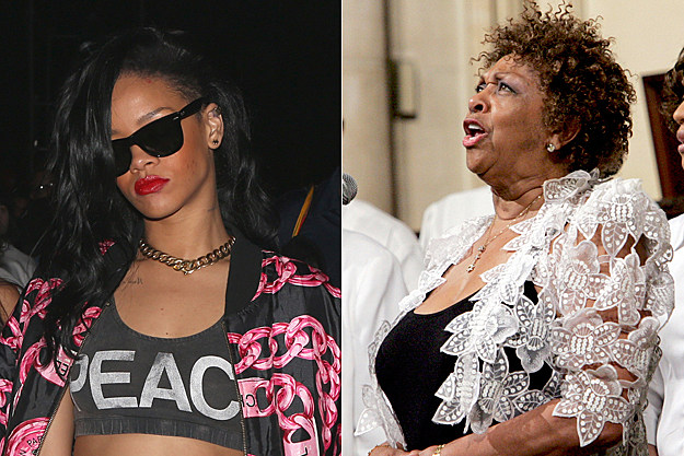 Rihanna, Cissy Houston