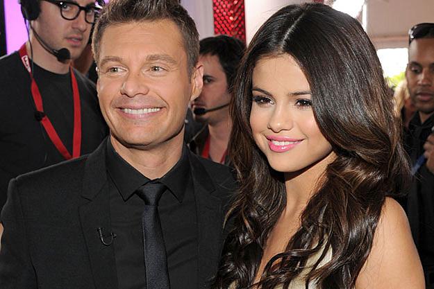 Selena Gomez Ryan Seacrest