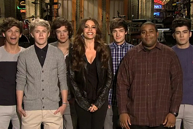 One Direction, Sofia Vergara, Kenan Thompson