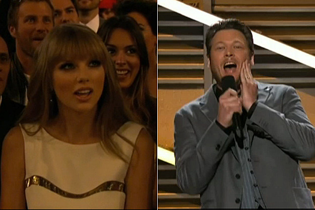 Taylor Swift Blake Shelton ACM