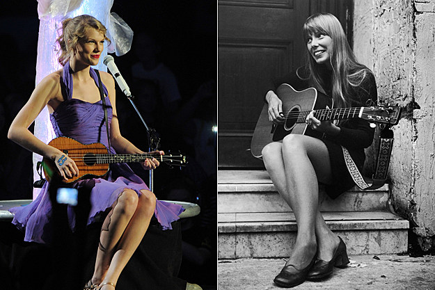 Taylor Swift, Joni Mitchell