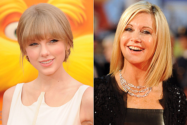 Taylor Swift, Olivia Newton-John