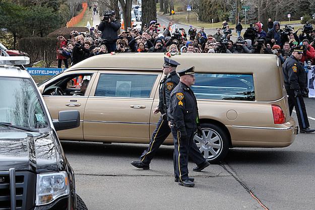 Whitney Houston's Burial