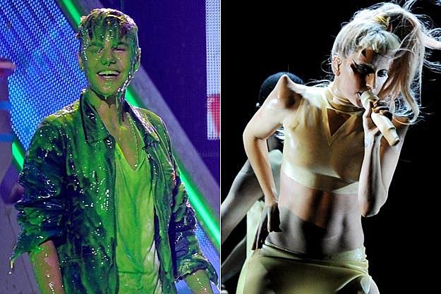 Justin Bieber Lady Gaga