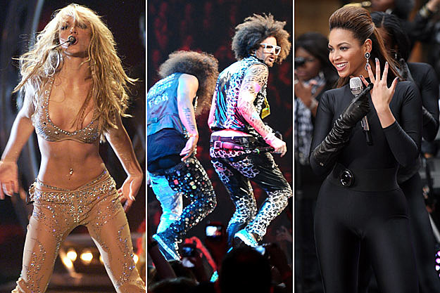 Britney Spears LMFAO Beyonce