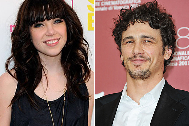 Carly Rae Jepsen, James Franco