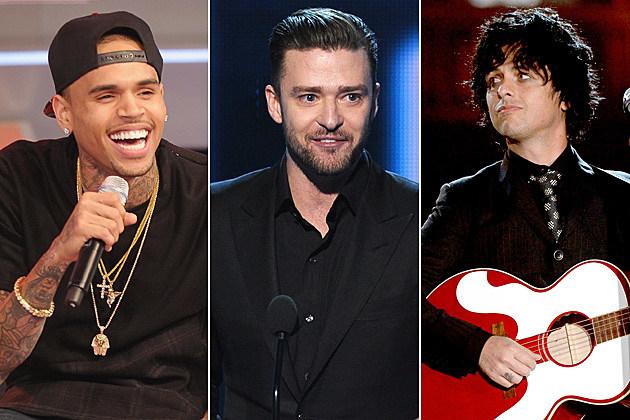 Chris Brown / Justin Timberlake / Green Day