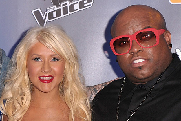 Listen to a Snippet of Cee Lo Green + Christina Aguilera, 'Baby It's Cold Outside'
