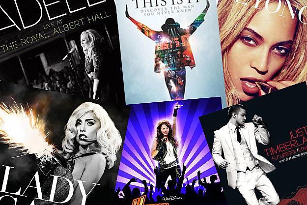 Adele Michael Jackson Beyonce Lady Gaga Miley Cyrus Justin Timberlake