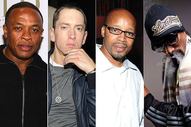 Dr. Dre Eminem Warren G Snoop Dogg
