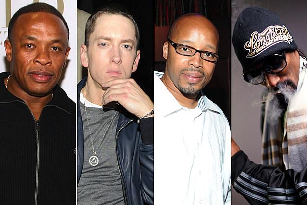 Dr. Dre Eminem Warren G Snoop Dogg