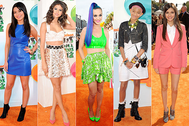 Miranda Cosgrove Selena Gomez Katy Perry Willow Smith Victoria Justice