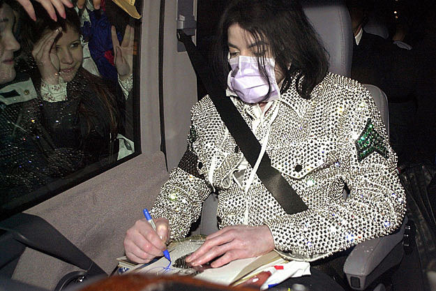 mj Michael Jackson Surgical Mask Auctioning for Over $20,000