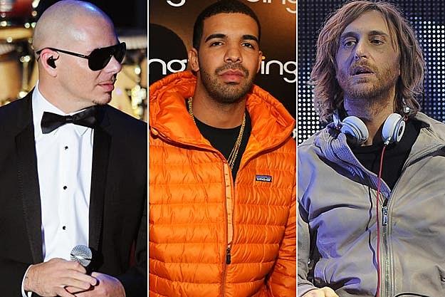 Pitbull Drake David Guetta