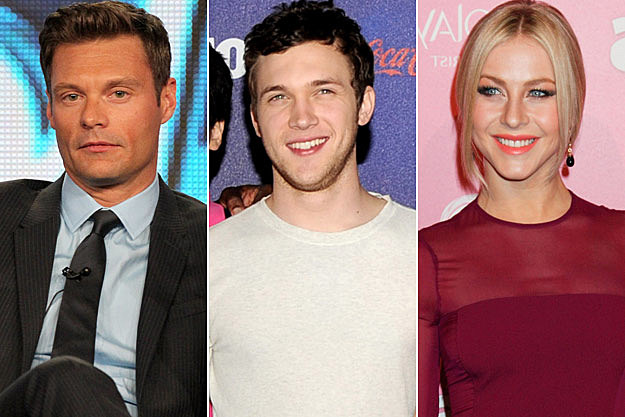 Ryan Seacerst Phillip Phillips Julianne Hough