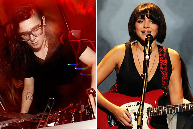 Skrillex Norah Jones