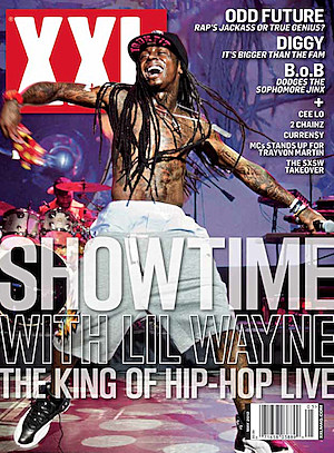 Lil Wayne XXL Cover