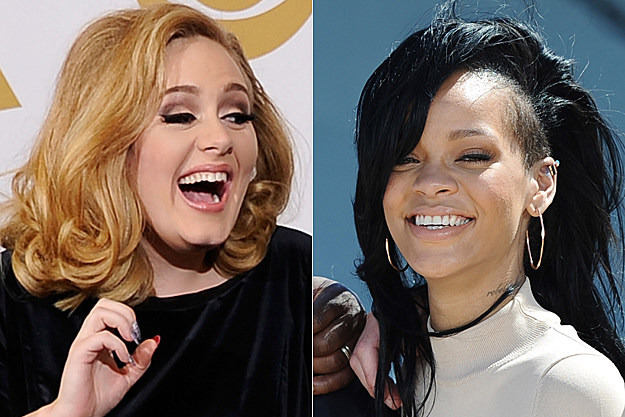 Adele, Rihanna