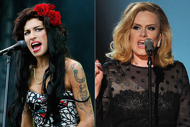 Amy Winehouse Adele