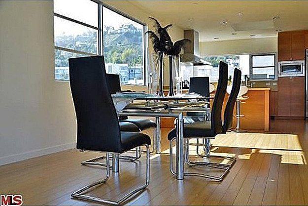 Chris Brown dining room